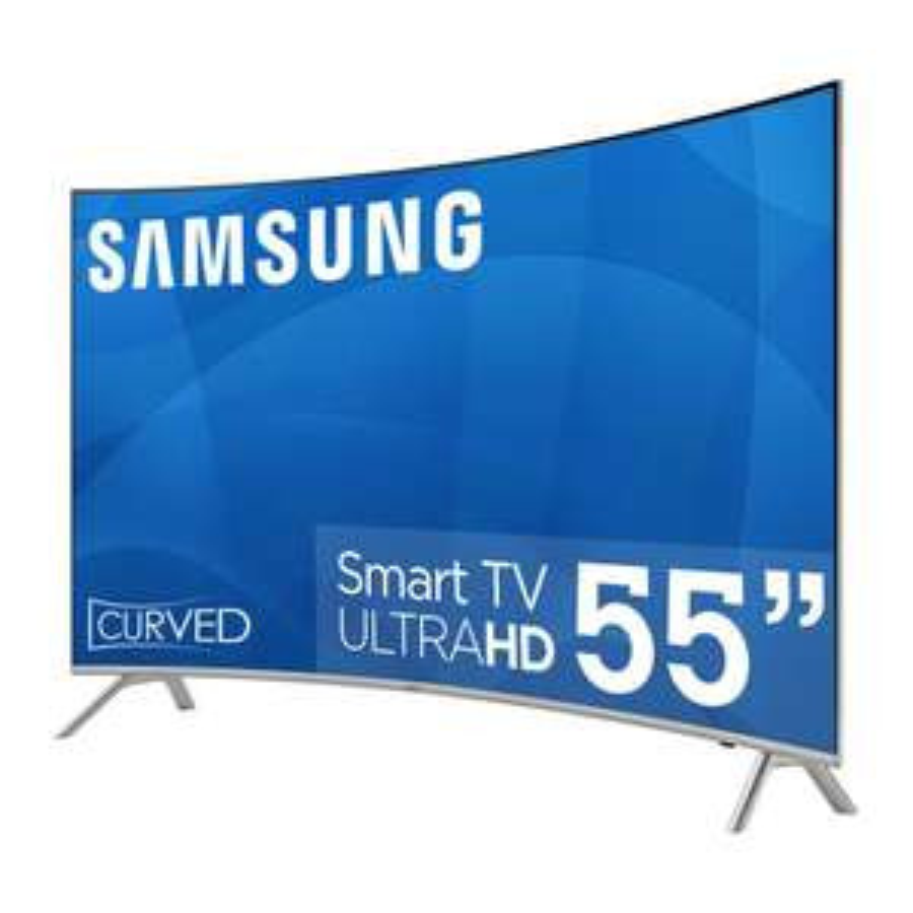 "Hot Sale 2018 en Sam's Club: Pantalla Samsung 55"" MU7550 4k HDR Curva Serie 7"