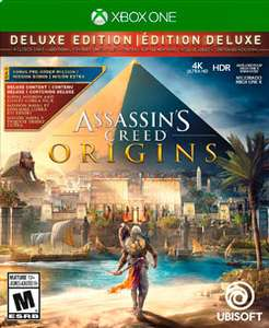 Mixup: ASSASSINS CREED: ORIGINS Deluxe Edition para Xbox One y PS4 en 699