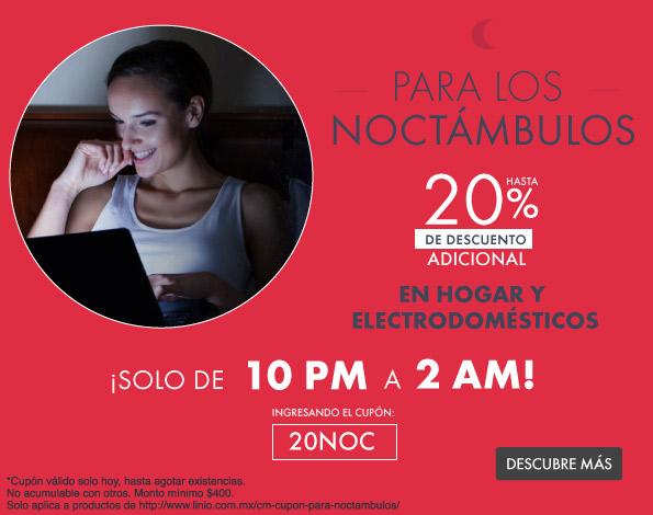 Linio: 20% de descuento en hogar y electrodomesticos (selección)