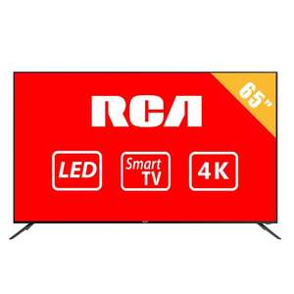 "Walmart: Pantalla RCA 65"" 4K Ultra HD Smart TV LED RTV6566USM con Bancomer o Banamex"