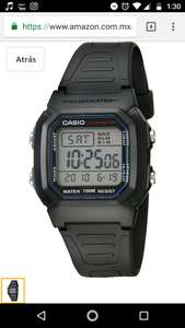 Hot Sale 2018 en Amazon: Casio W800H-1AV