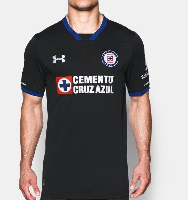 Under Armour: Jersey Cruz Azul Negro a $199 pesos