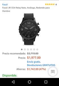 Hot Sale en Amazon: Reloj Fossil JR1354