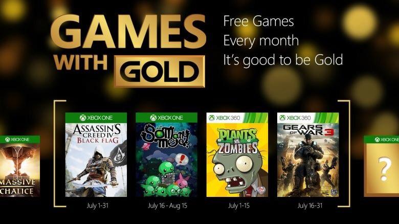 Juegos GRATIS con Xbox Live Gold en julio 2015