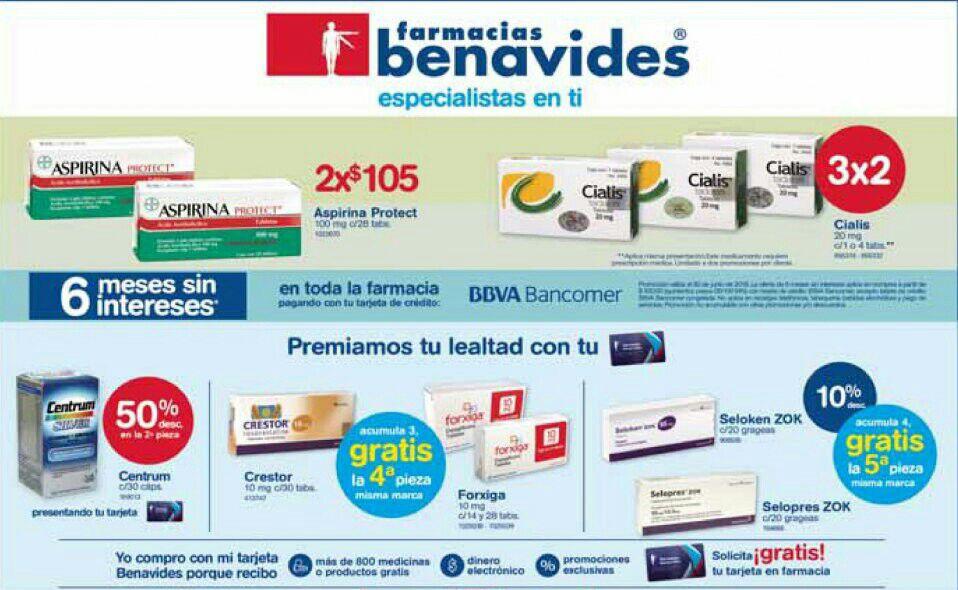 Farmacias Benavides: Ofertas del 4 al 7 de Junio