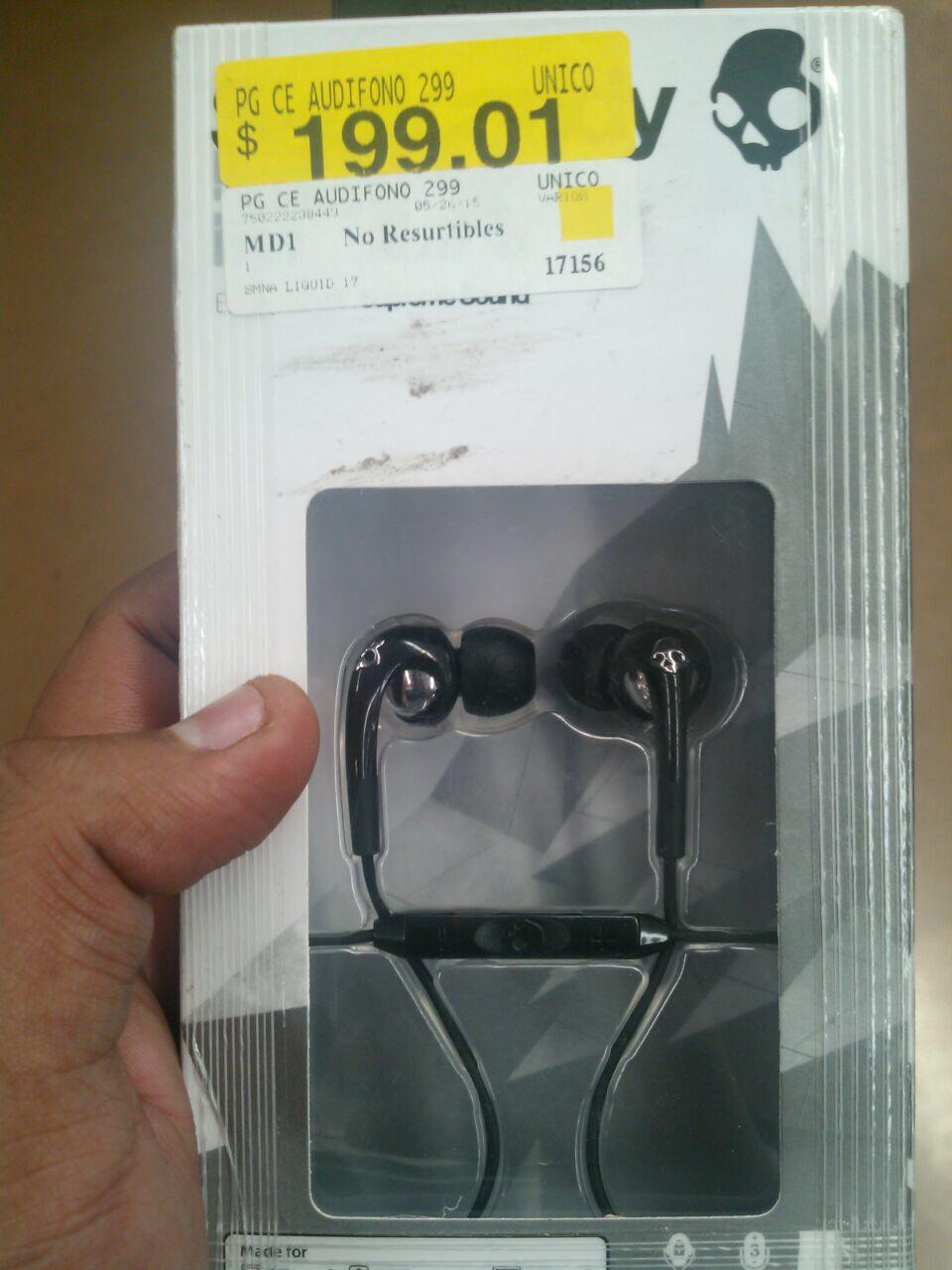 Walmart : skullkandy 50/50 $149.02 y mas