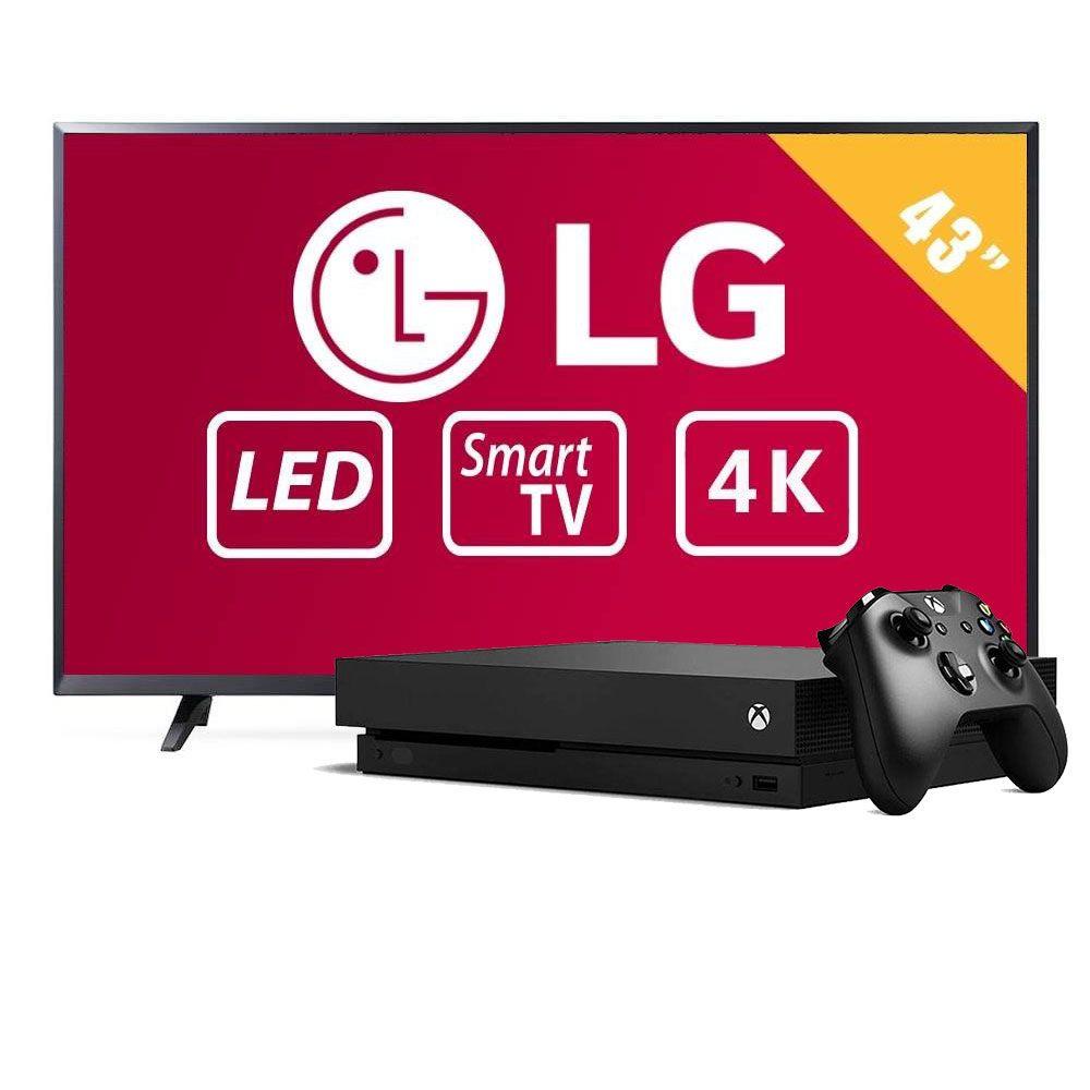 Walmart: Varios Paquete de Smart TV 4K Ultra HD más Consola Xbox One X 1TB Negra