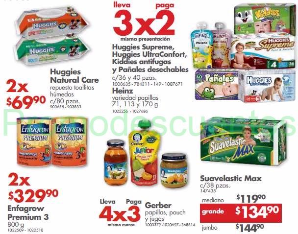 Farmacias Benavides: 3x2 en pañales Huggies y Kiddies, desodorantes en aerosol y más