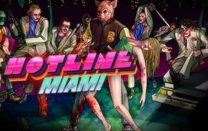 Humble Bundle: HOT LINE MIAMI  $50 y HOT LINE MIAMI 2: Wrong Number $75  %75 para STEAM
