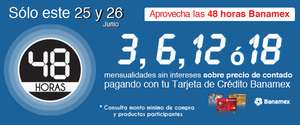 OfficeMax: 48 horas Banamex