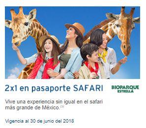 Banamex: 2x1 en pasaporte Bioparque Estrella.