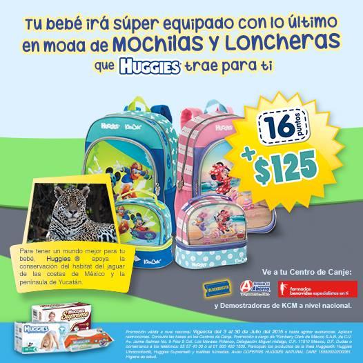 Huggies y KleenBebé: mochila y lonchera Mickey Mouse con 16 puntos + $125