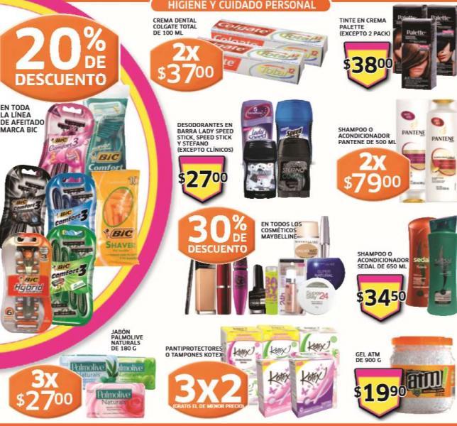 Folleto de ofertas en Soriana del 3 al 9 de enero