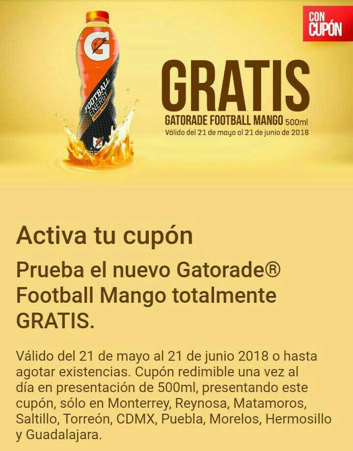 7 Eleven App: Gatorade Mango GRATIS