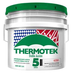 Home Depot: Impermeabilizante Termico  Thermotek 1 galon Color Terracota (Rojo)
