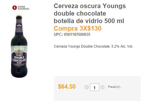 Superama 3x2 cervezas importadas seleccionadas