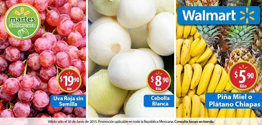 Martes de frescura en Walmart junio 30: Uva Roja sin semilla a $19.90 el kilo y más
