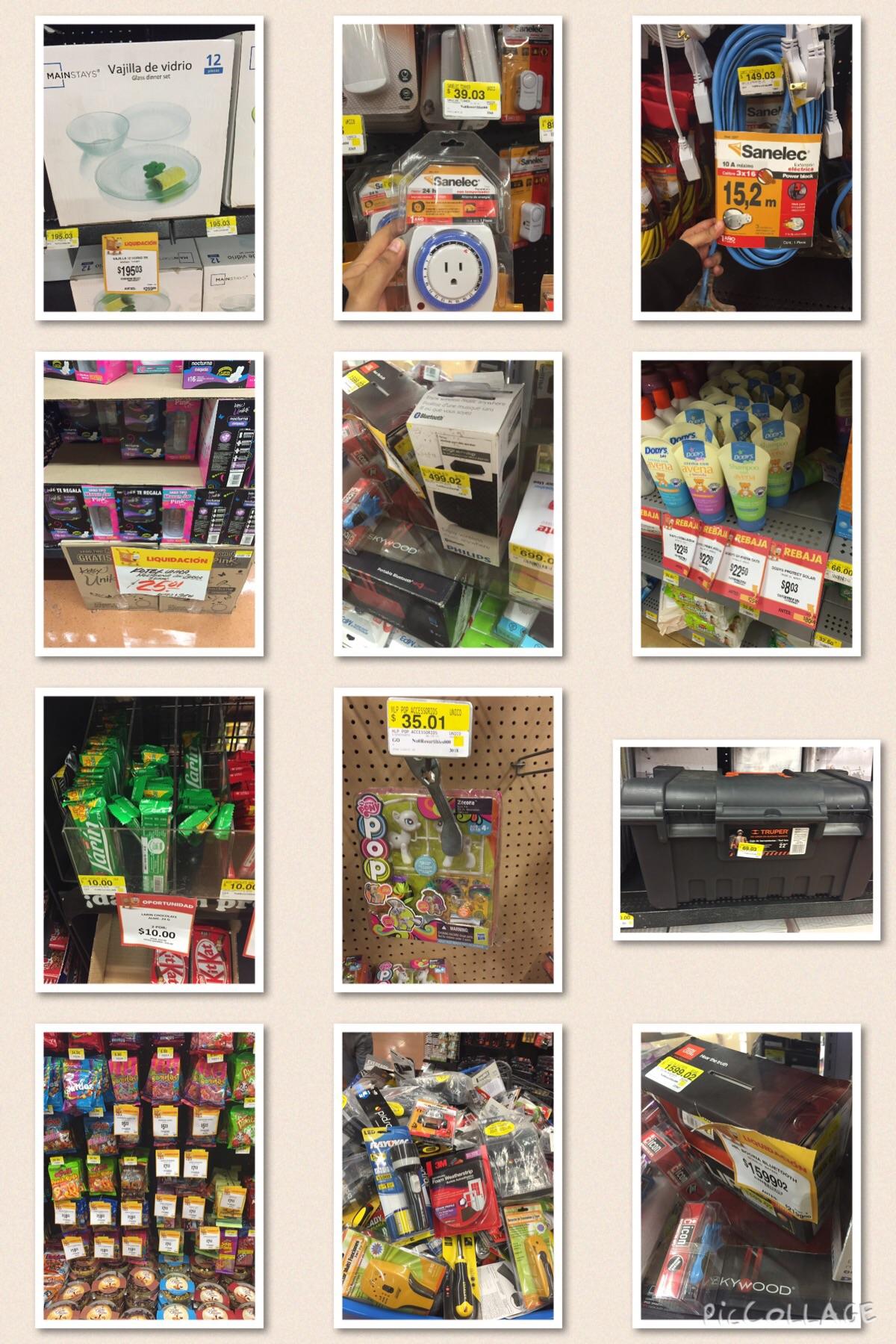 Walmart: liquidación en dulces, herramienta, juguetes