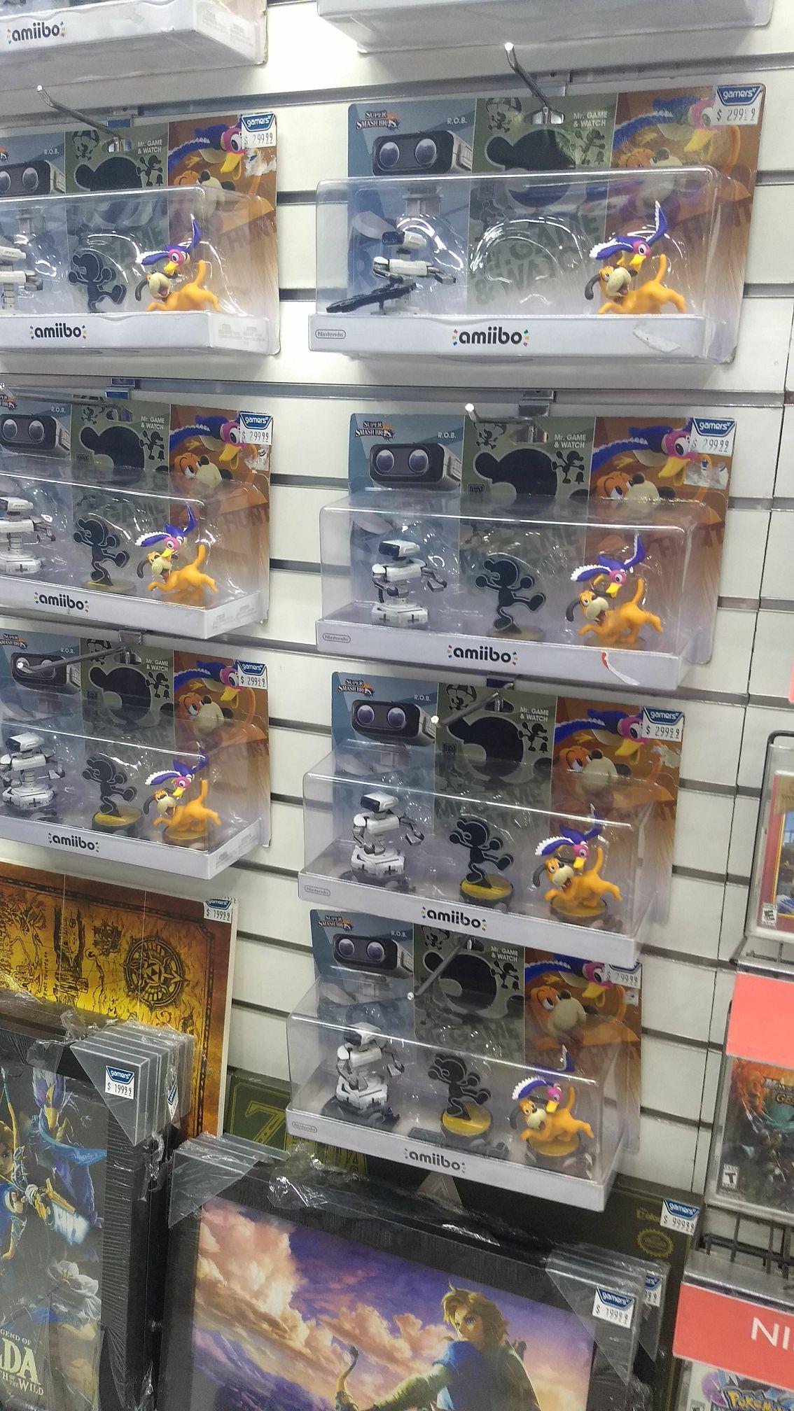 Gamers: Amiibo Retro 3 Pack