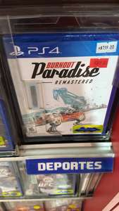 Mixup: Burnout Paradise Remastered para PS4