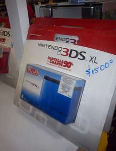 HEB: Nintendo 3DS XL a $1,500