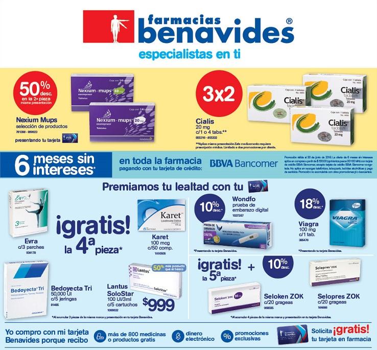 Farmacias Benavides: Ofertas del Lunes 11 al Jueves 14 Junio