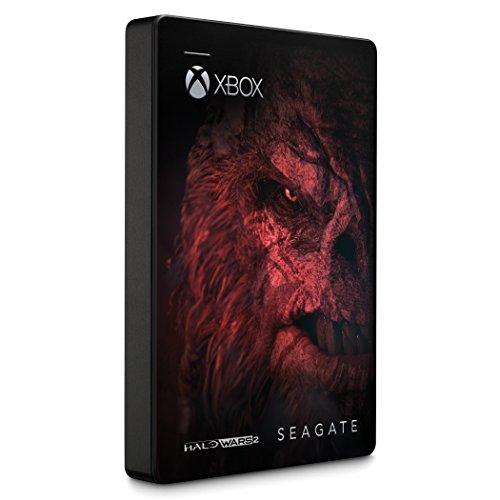 Amazon: Disco Duro Portatil Seagate de 2TB para Xbox Edición Halo Wars 2