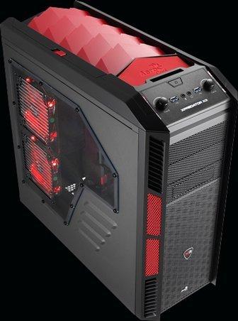 Amazon: Gabinete AeroCool Xpredator-X3 Devil Red Edition