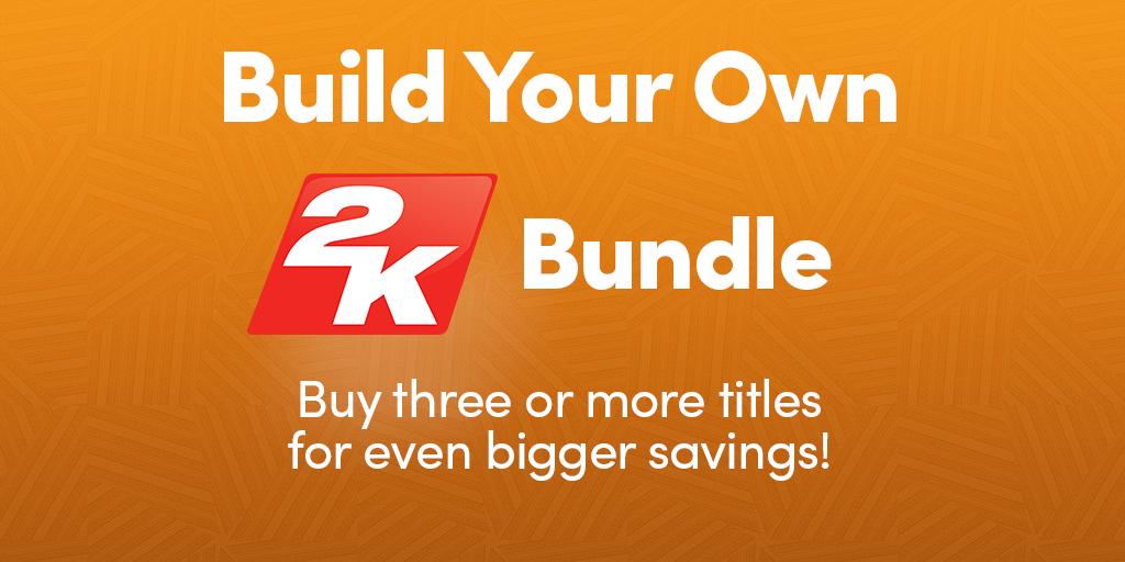 HumbleBundle: 2K Make Your Bundle(mientras mas juegos compres mas barato)
