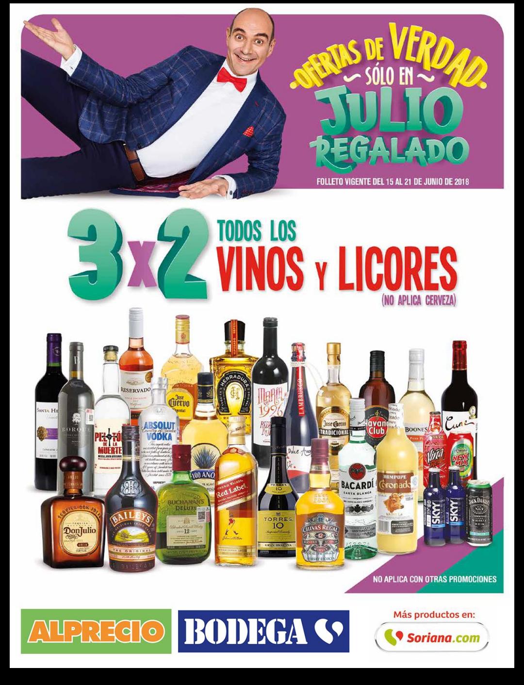 Julio Regalado 2018 en Soriana: Folleto Julio Regalado (15 - 21 de junio)
