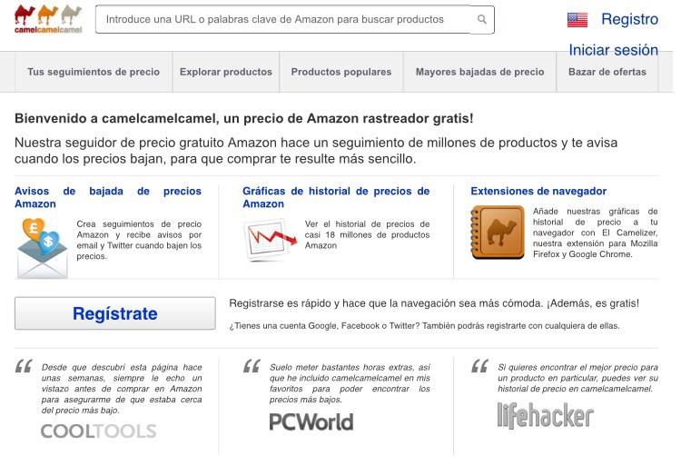 Promoconsejos: Web para avisar si AMAZON baja de precio un producto