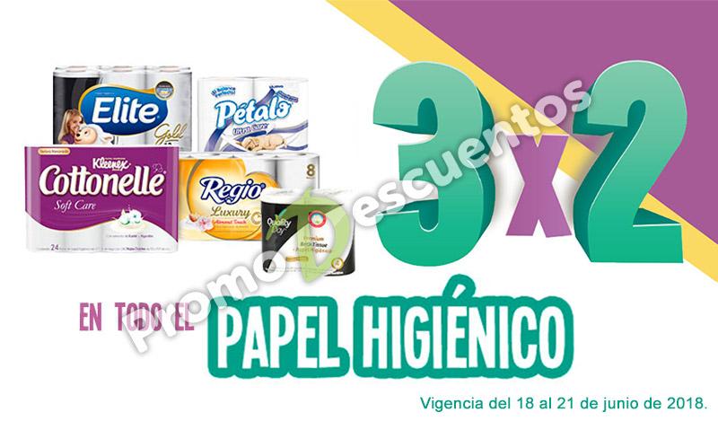 Julio Regalado 2018 en Soriana: 3x2 en todo el papel higiénico