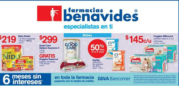 Farmacias Benavides: Ofertas al 18 de Junio