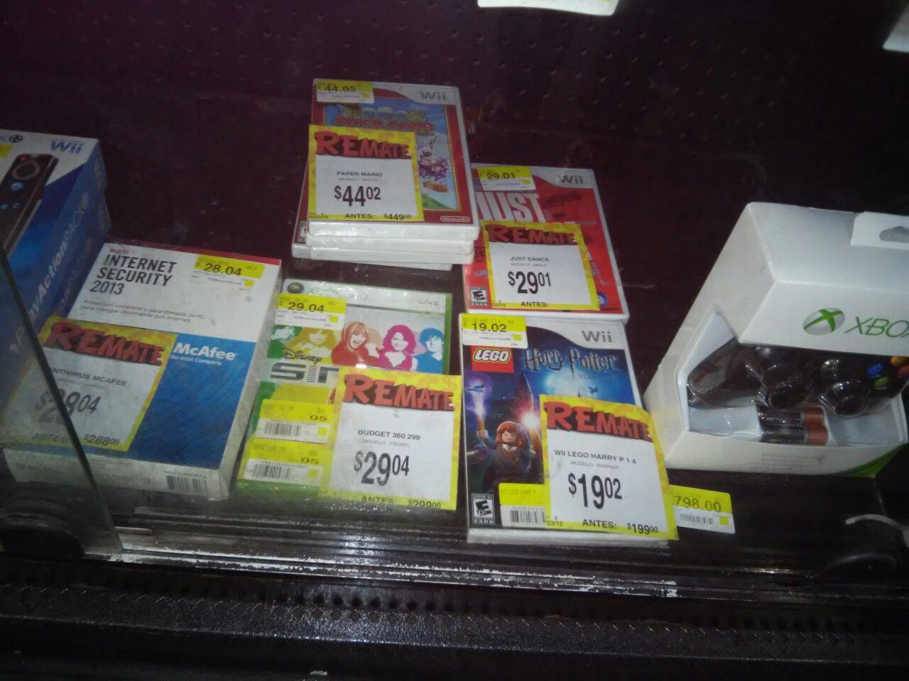 Bodega Aurrerá: Juegos Wii a $19.02 y otras ofertas