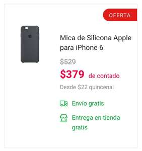 Coppel: Funda Original Apple Iphone 6/6s