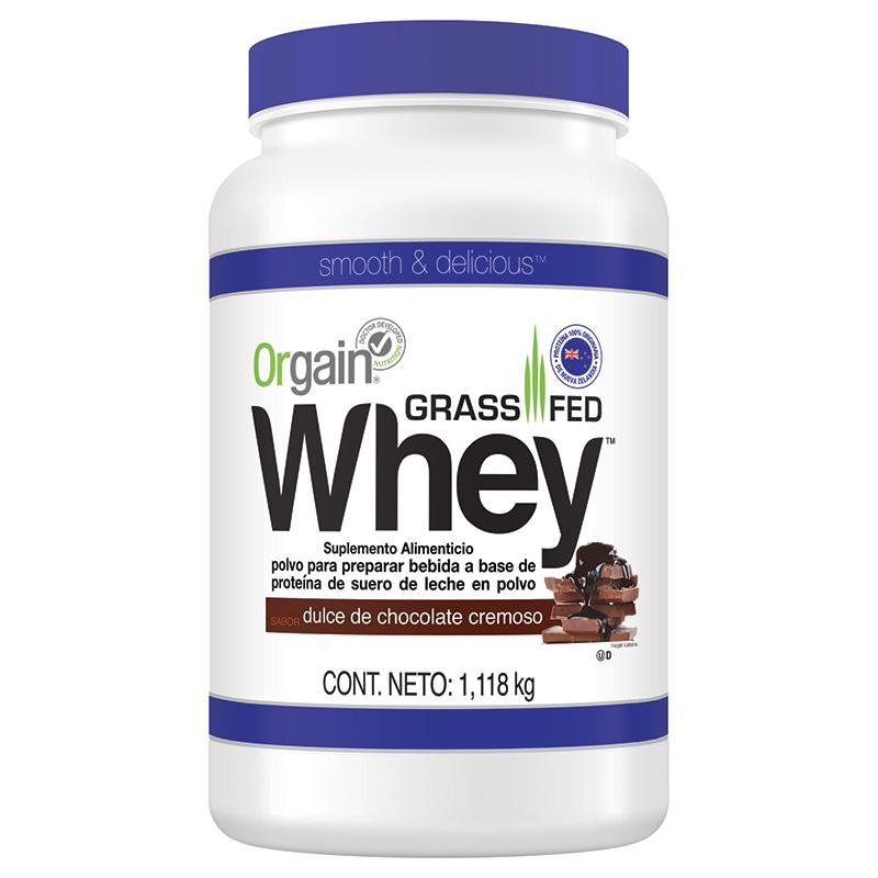 Costco: 6 Proteinas (6.6 kg Total) Orgain Grassfed Whey 65% De descuento con Paypal