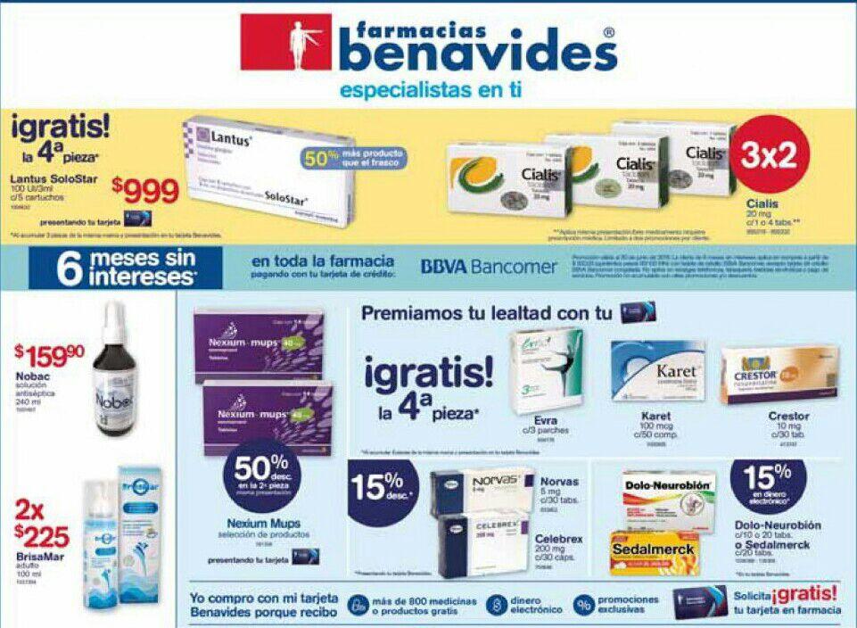 Farmacias Benavides: Ofertas del Lunes 18 al Jueves 21 Junio