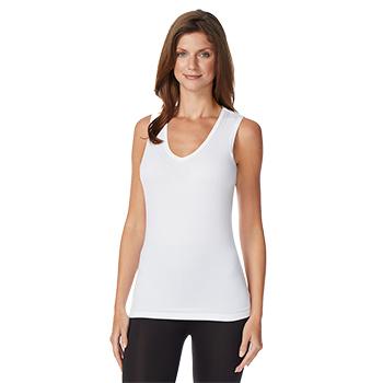 Costco:  32 Degrees Cool, paquete de 2 camisetas para dama sin mangas con cuello en V (Envío incluido)