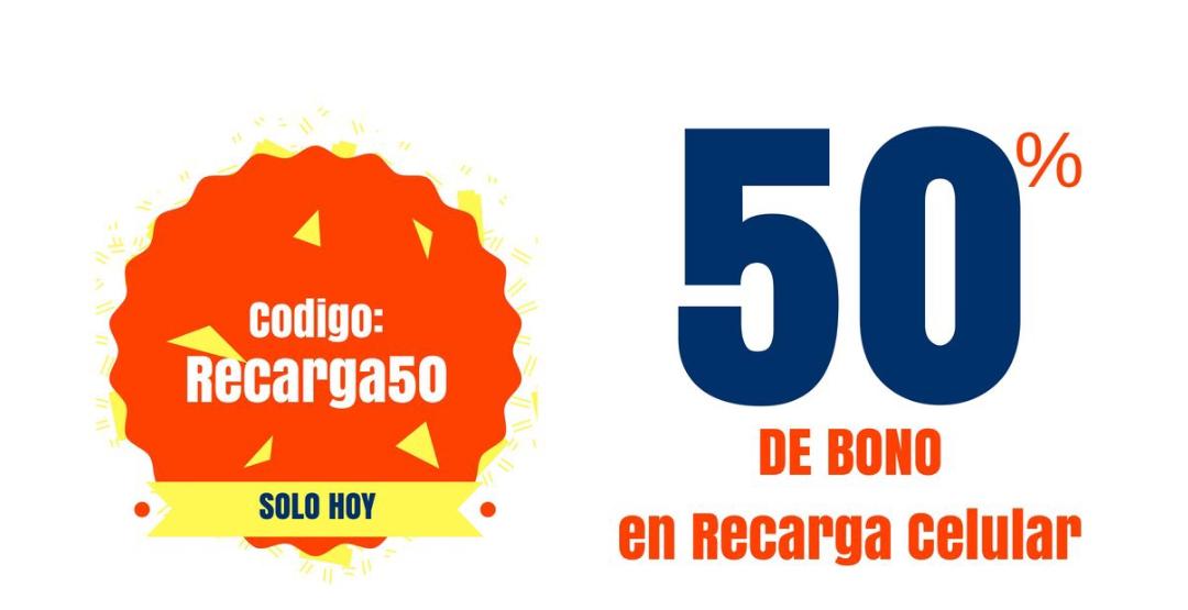 Undostres 50% de bonificación a monedero en recargas de 100 pesos