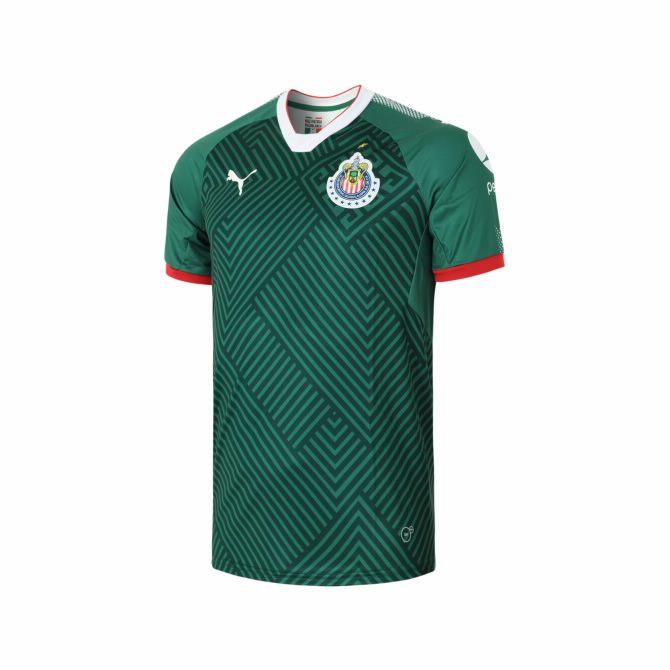 Martí: Jersey Chivas Tercero Verde 17-18 Versión Fan