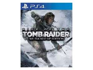 "LIVERPOOL: ERROR Tomb Rider ""We Fucked Up Edition"" PS4"