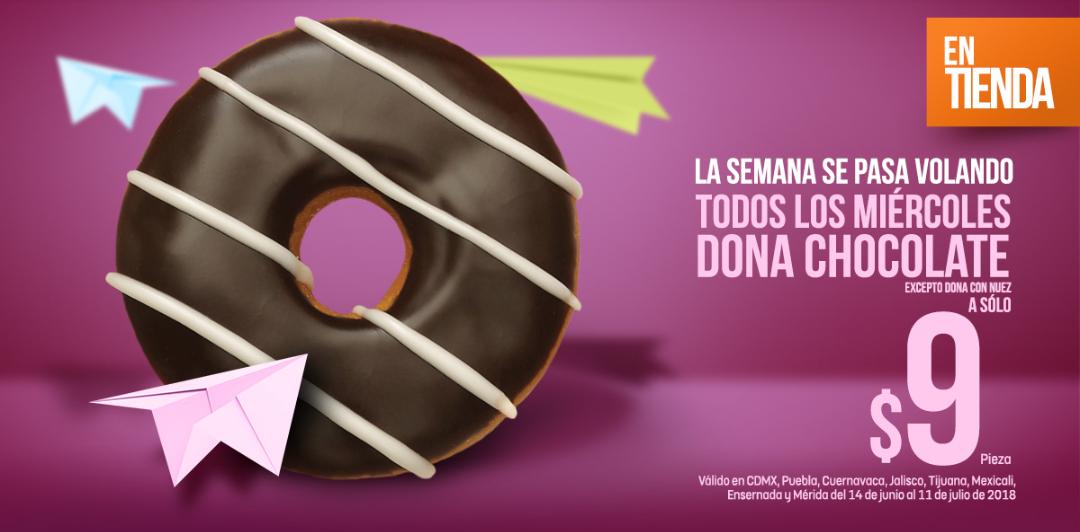 7 Eleven: Big Donut de Chocolate Todos Los Miércoles a Sólo $9 Pesitos