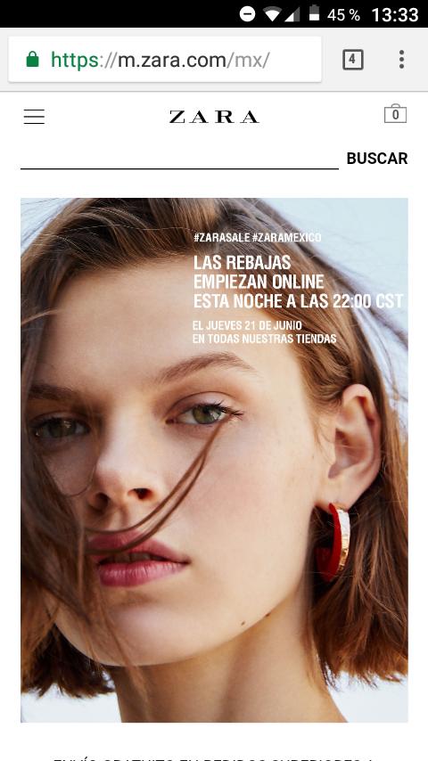 Zara: Rebajas Inditex, mañana empiezan las rebajas hoy online