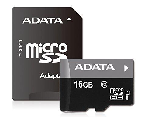 Amazon: Micro Sd 16 GB Adata Clase 10