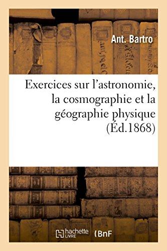 Amazon: Libro Pasta Blanda Exercices Sur l'Astronomie y más