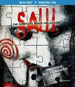 Amazon: Saw: The Complete Movie Collection en blu-ray $238
