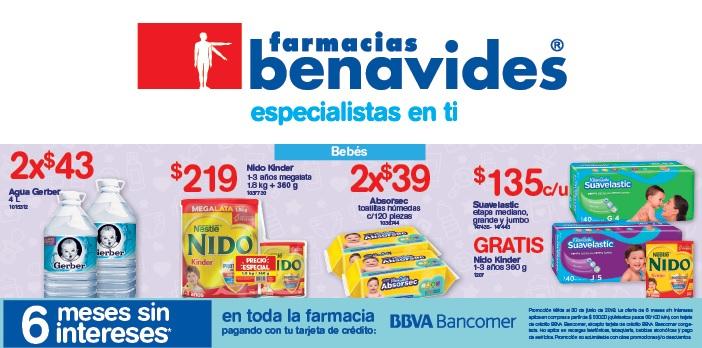 Farmacias Benavides: Ofertas del Viernes 22 al Lunes 25 Junio