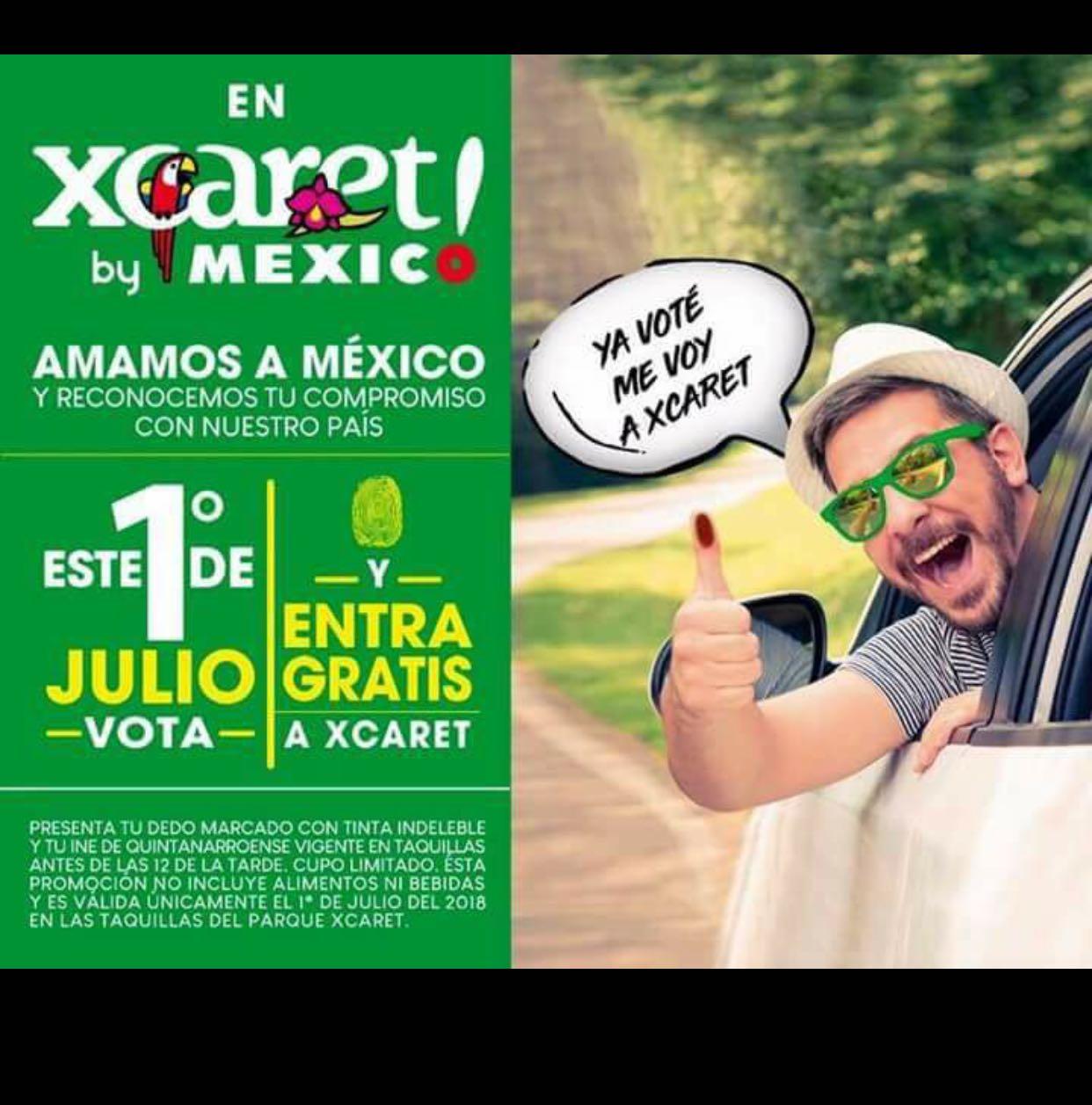 Xcaret Park: Vota este 1 de julio y Entra Gratis