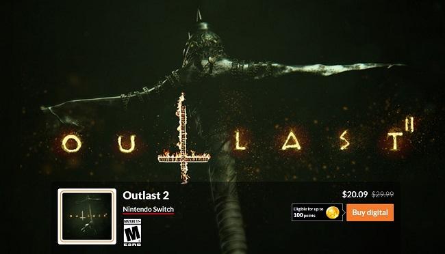 eShop: Outlast 2 para Nintendo Switch