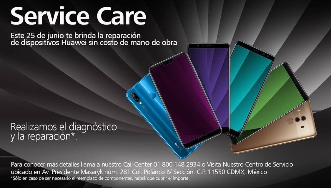 Huawei CDMX: diagnóstico gratis, (hay que pagar componentes si lo requiere la reparación)